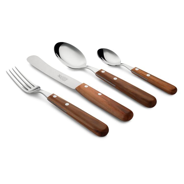"Herder Table Cutlery Set with ""Buckelsklinge"" (blunt-rounded blade)"