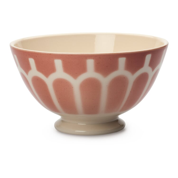 Ceramic Latte Bowl Small Arch/Rose