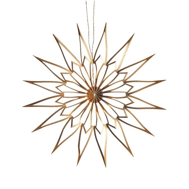 Stern Scherenschnitt Gold 9 cm