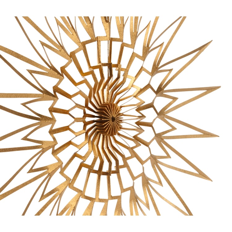 Paper Cut Star Golden Ø 15 cm