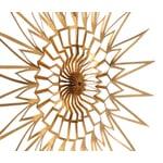 Stern Scherenschnitt Gold 15 cm