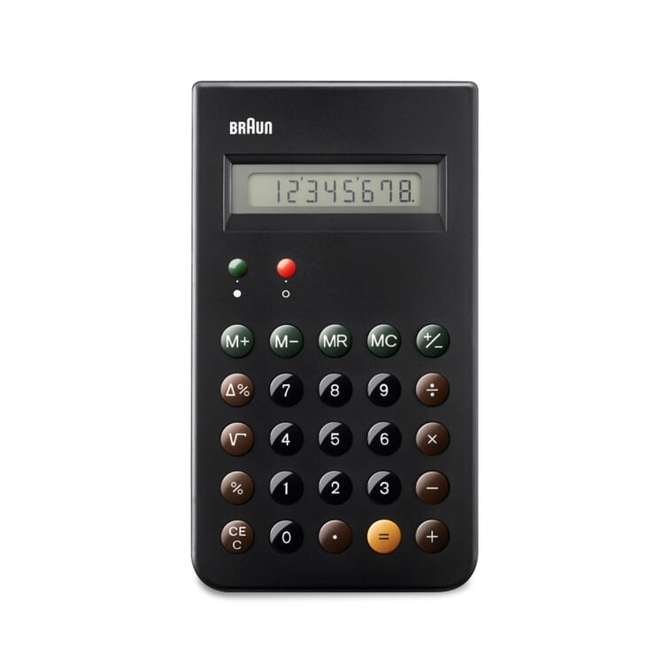 Pocket Calculator BRAUN, Black