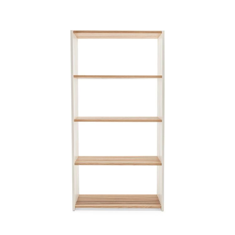 Oak and Beechwood Folding Shelving 4 shelves