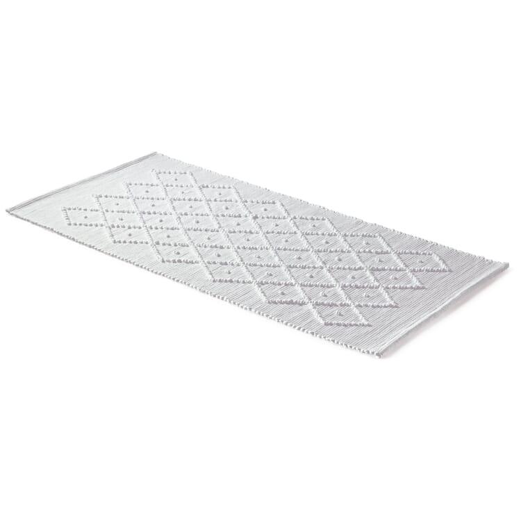 Diamond Patterned Bath Mat