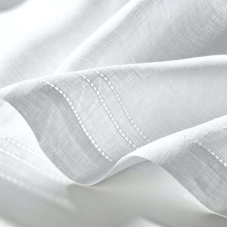 Half Curtain Linen Voile