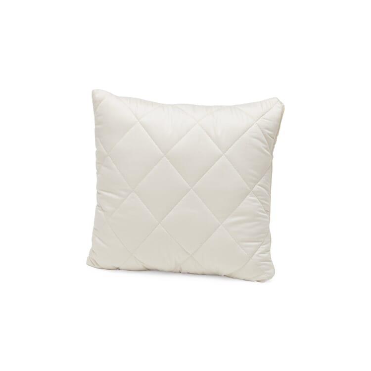 Pillows Filled with Little Balls of Virgin Wool