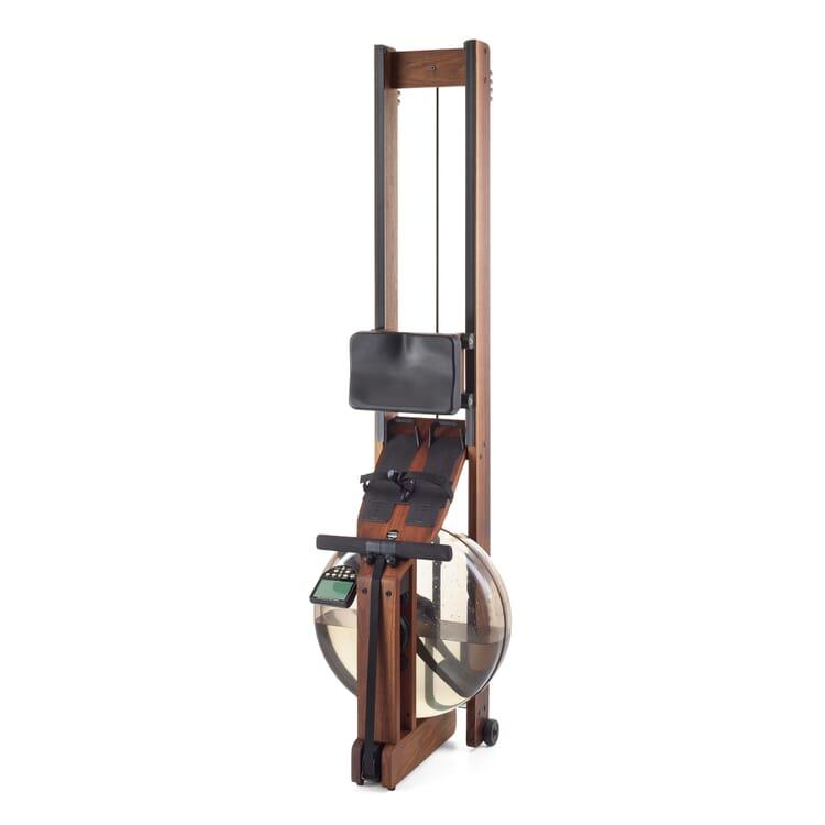 WaterRower Rudergerät Holz mit Monitor, Nussbaumholz