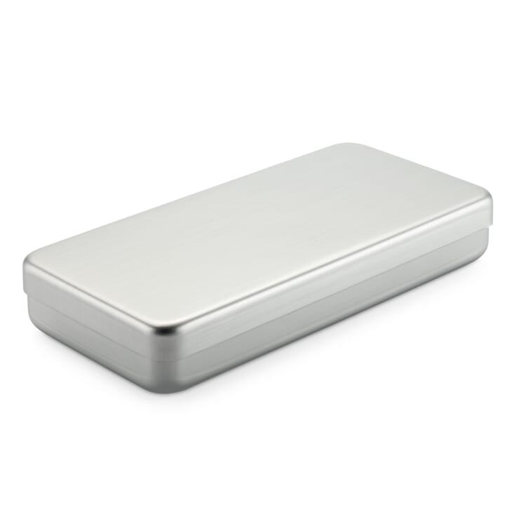 "Storage Box Made of Aluminium ""Alubox"", Flat"