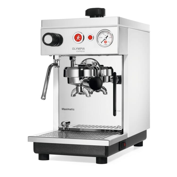 Olympia Maximatic Semi-Automatic Espresso Machine, White