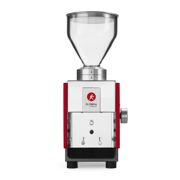 Olympia Express Moca Espresso Grinder, Red