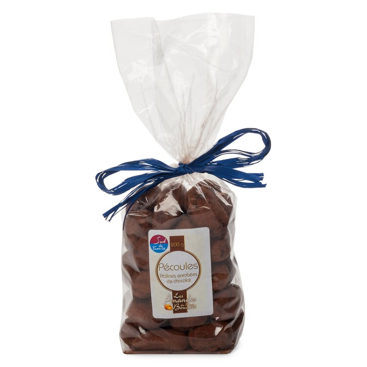 Gebrannte Mandeln in Schokolade aus Frankreich