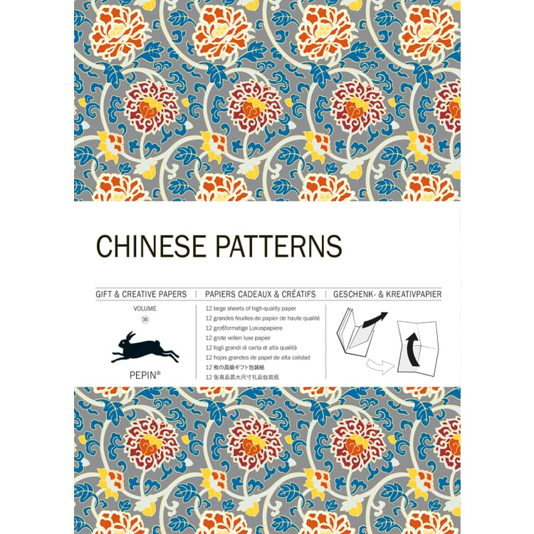Geschenkpapier Pepin, Chinese Patterns