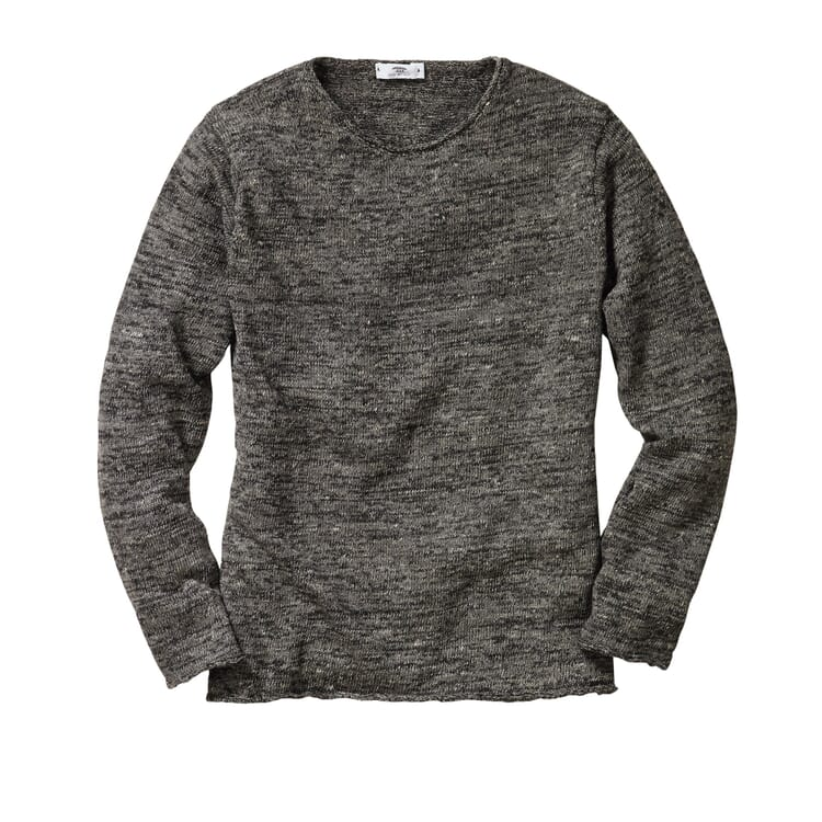 Inis Meáin Linen Shirt, Anthracite