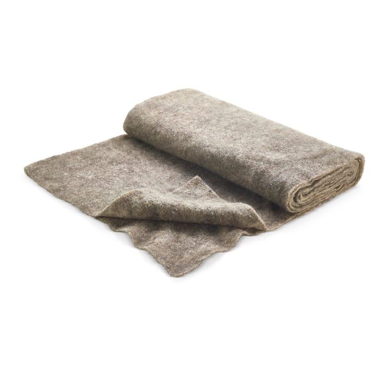 Unkrautschutzmatte Schafwolle