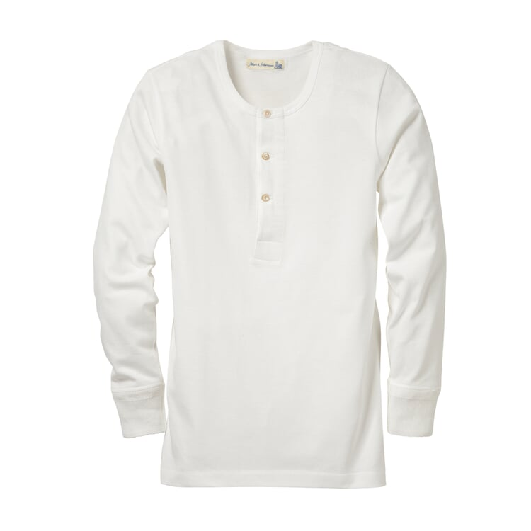 Merz b. Schwanen Longsleeve Jersey Men's Shirt White