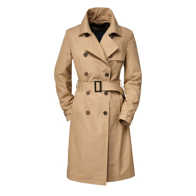 EtaProof® Women's Trench Coat Beige