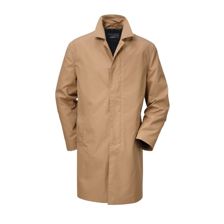 Men?s Short Coat Made of EtaProof®, Caramel