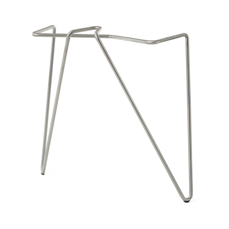 Tischbeinklammer Edelstahl Stahlrohr 72 cm