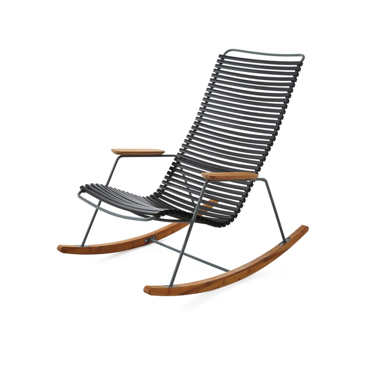 Rocking Chair Click, Grey and Black