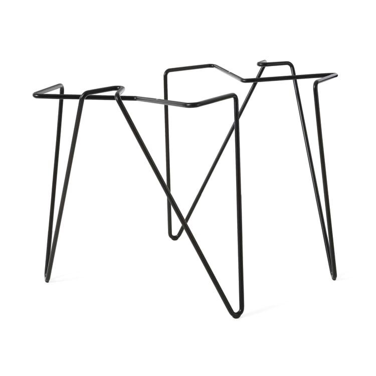 Tischbeinklammer, Stahl, schwarz pulverbeschichtet