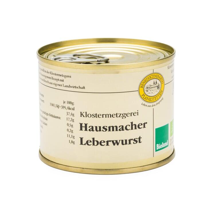 Bio-Plankstettener Hausmacher Schweineleberwurst