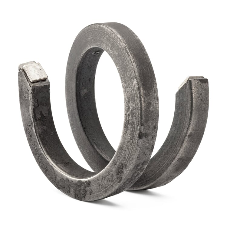 Forged Spiral and Magnetic Paper-Clip Holder