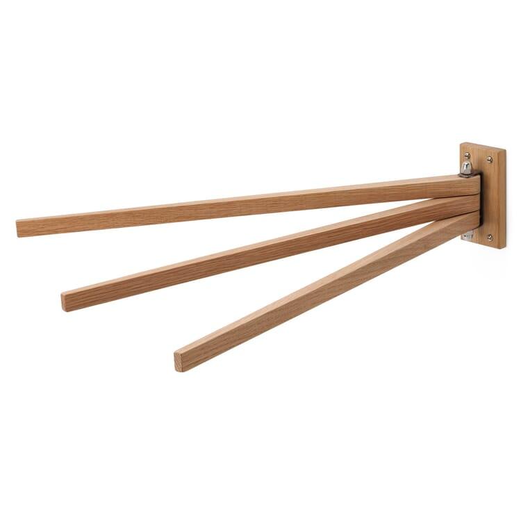 Handtuchhalter Eichenholz dreiteilig
