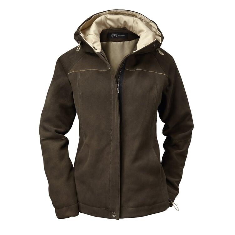 Women's Deerskin Hooded Jacket