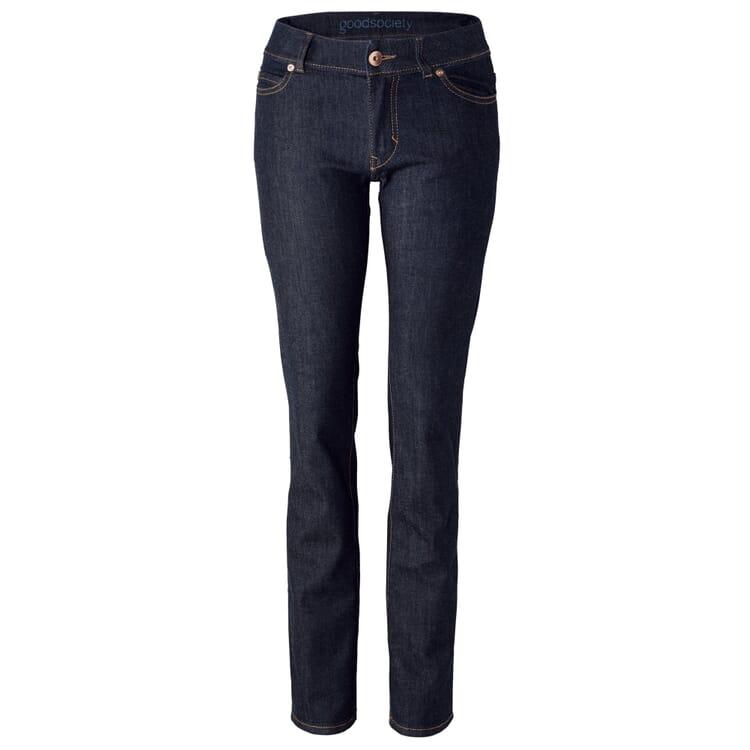 Goodsociety Women's Jeans Boot Cut, Denim-Blue