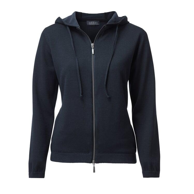Seldom Women's Casual Jacket Dark blue