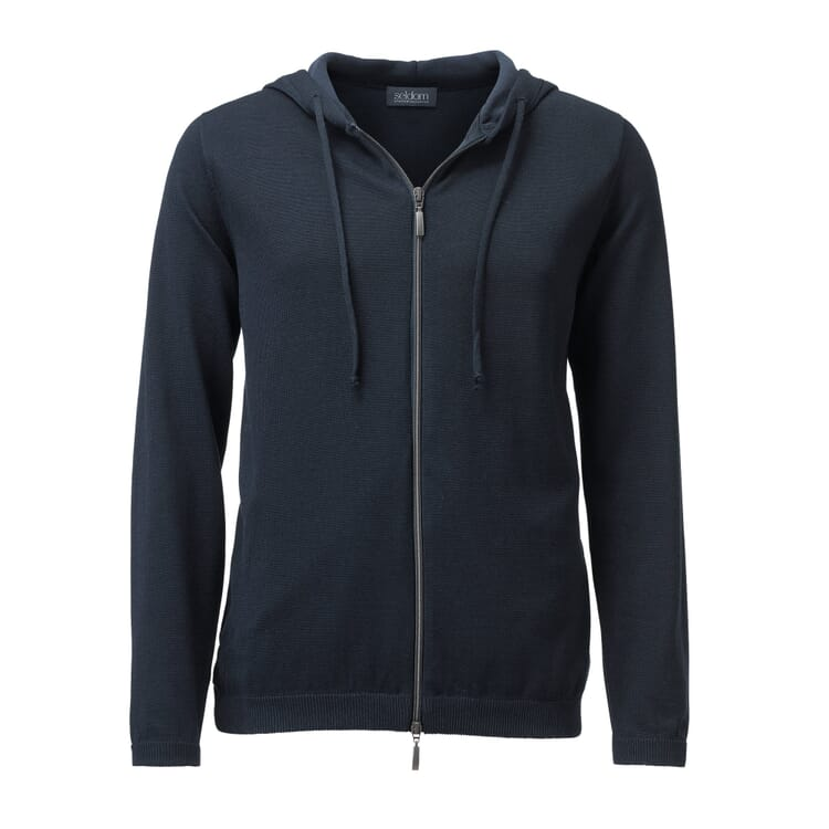 Seldom Men's Knit jacket, Darkblue