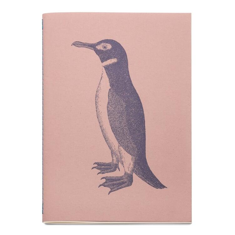 Sketchbook with Animal Motif Penguin