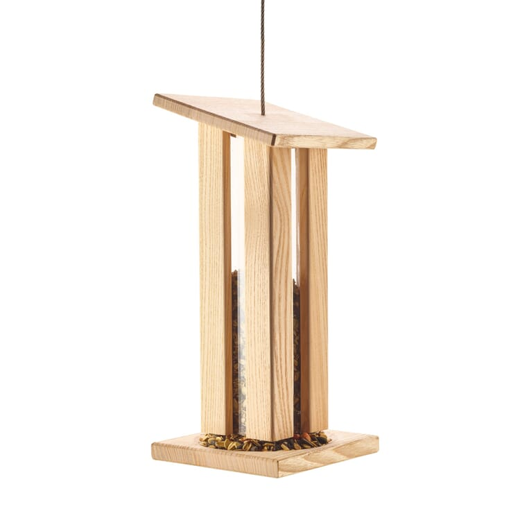 Birdfeeder Made of Ashwood