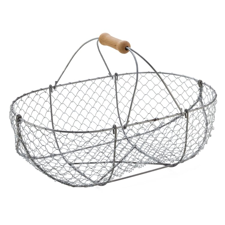 Braided Wire Basket, Large
