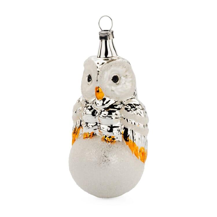 Traditional Lauscha Glass Owl