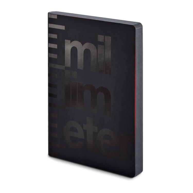 Notizbuch Millimeter