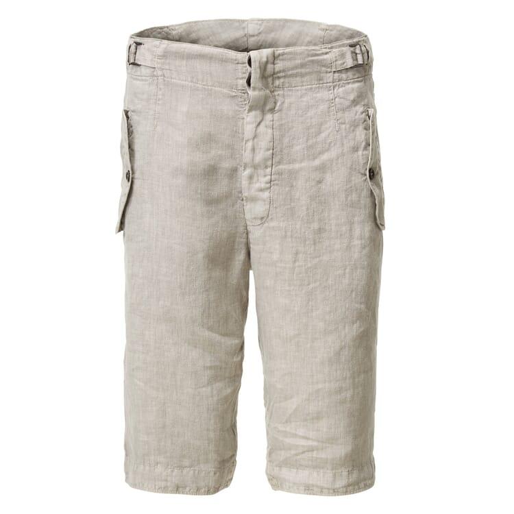 Hannes Roether Men?s Bermuda Shorts Linen