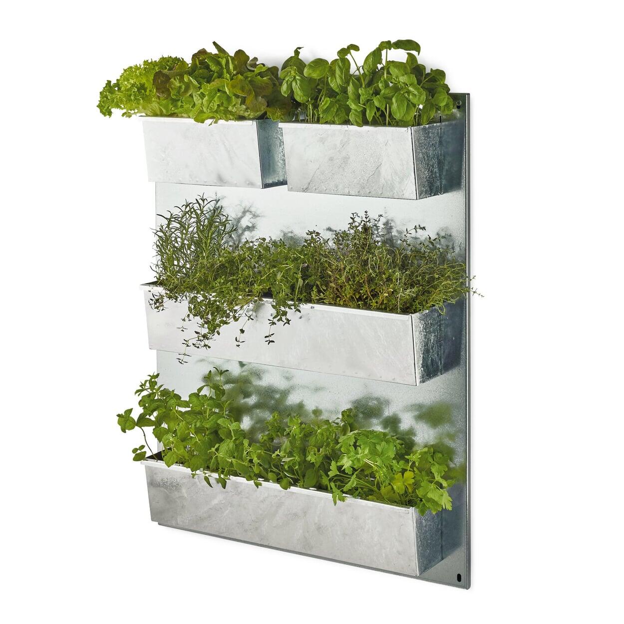 Vertikaler Garten Stahl verzinkt