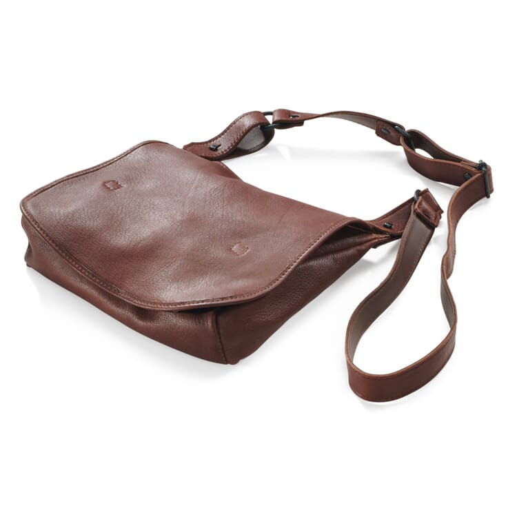 Elk Leather Haversack Bag