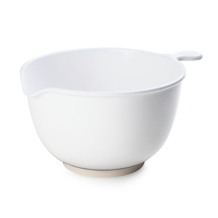 Mixing Bowl Made of Melamine Resin, Extra-Wide Bowl
