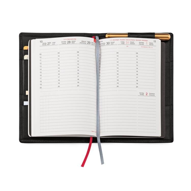 X47 Personal Organizer System A6 Black