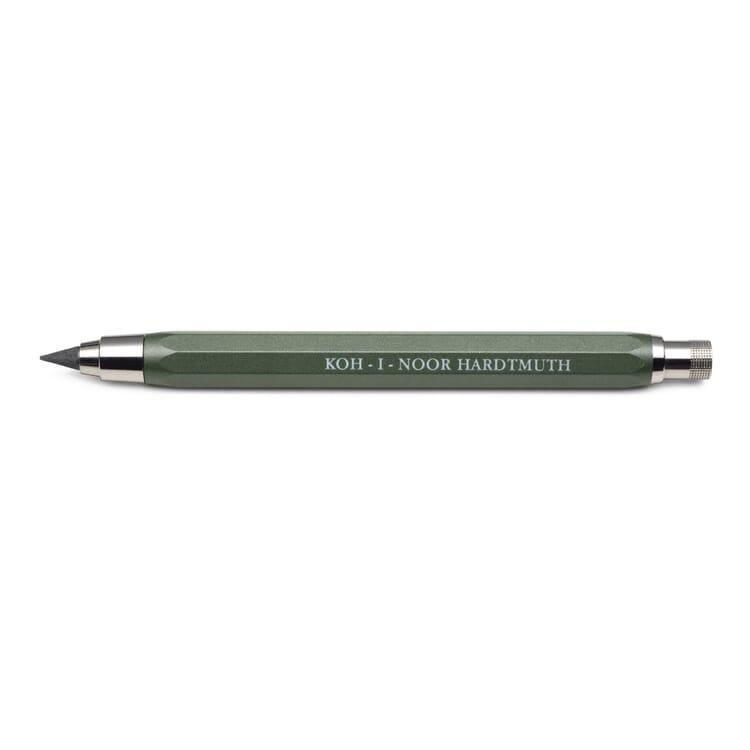 Metal Leadholder 5.6 mm Lead, Green