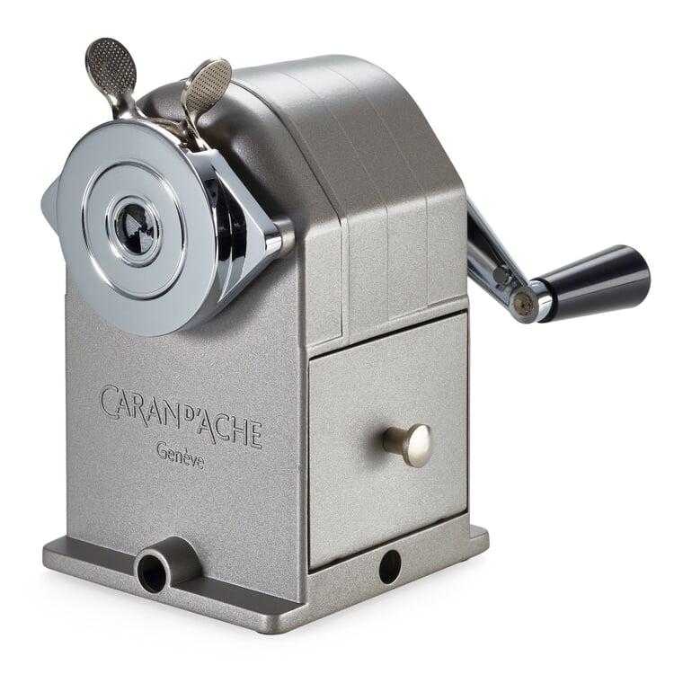 Caran d'Ache Bleistift-Spitzmaschine Stahl