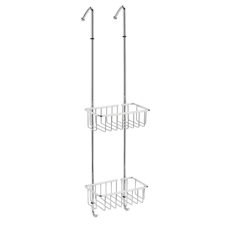 Mobile Shower Rack Made of Chrome-Plated Brass