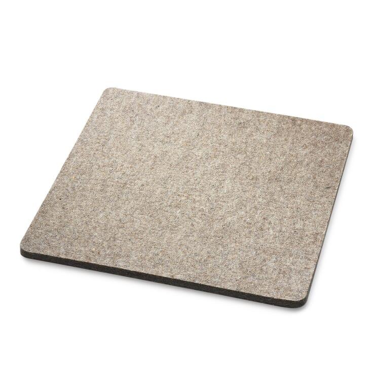 Seat Pad Made of New Wool Felt