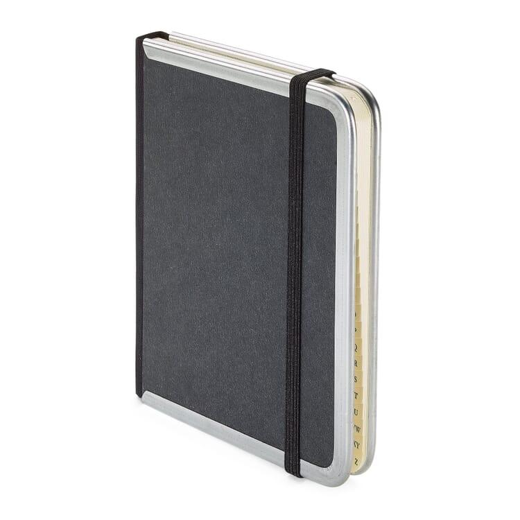 Adressbuch Metallkante