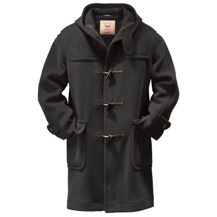 Men?s Elysian Duffle Coat, Anthracite