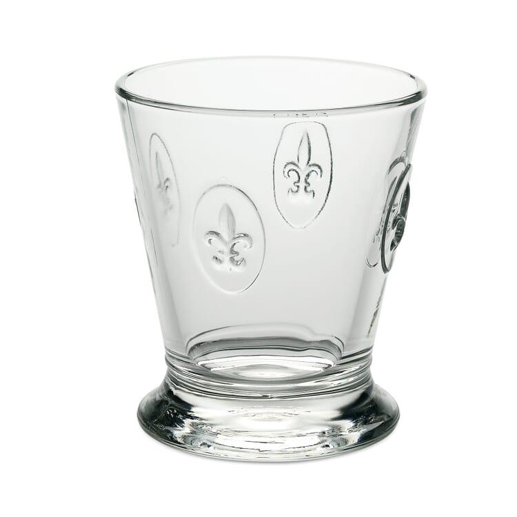 La Rochère Fleur-de-Lys Drinking Glass, Volume 200 ml