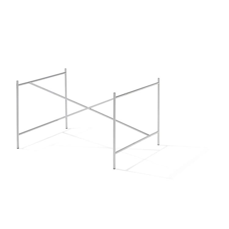 Base Frame for Tabletops Eiermann 1, Silver-Coloured
