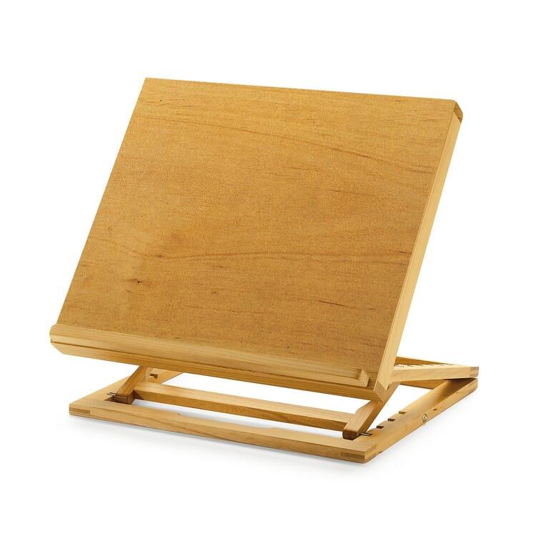 Alder Wood Folding Table Lectern